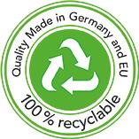 Siegel recyclable